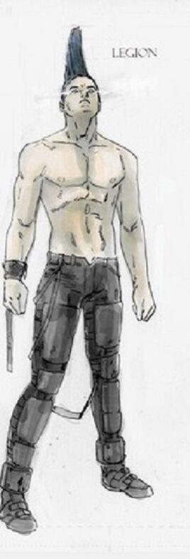 David Haller (Tierra-11326) de X-Men Legacy Vol 1 245 001