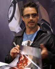 Robert Downey Jr Comic Con 2007