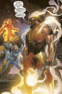 Ronan is accusing Fantastic Four Earth-1610