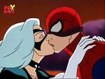 Black Cat Spiderman cartoons