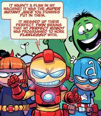 Vingadores (Terra-71912) de Gigantesca Pequena Marvel VVX Vol 1 4 0001