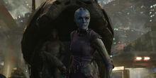 Небула и Ронан прибывают на Знамогде - Стражи галактики