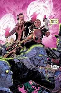 Deadpool Vol 5 Issue 3 Attack
