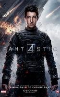 Fantastic Four 2015 poster Mr. Fantastic