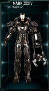 Armure d'Iron Man MK XXXIV (Terre-199999)