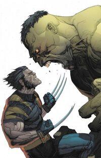 Ultimate Wolverine vs. Hulk Vol 1 1 Textless