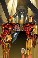 Invincible Iron Man Vol 1 1 Layton Variant Textless
