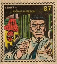 J. Jonah Jameson Marvel Value Stamp