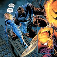 Thing and Invisible Woman vs Dormammu Earth-1610