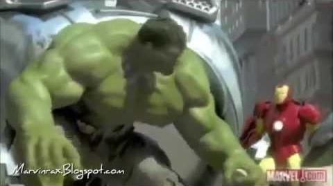 Iron Man, Hulk y Spider Man vs Robots Gigantes (Completo- Español Latino)