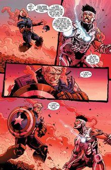 Iron Man contre Steve Rogers - Fin de deux univers