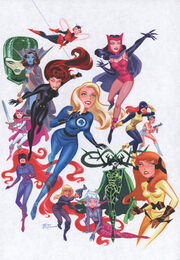 Women of Marvel (by Bruce Timm)