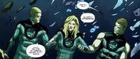 Ben and his friends underwater UCD 3