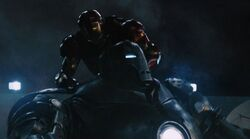 Anthony Stark (Earth-199999) vs. Obadiah Stane (Earth-199999) from Iron Man (film) 004