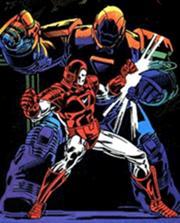 Tony Stark contre Obadiah Stane, alias Iron Monger