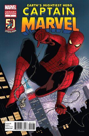 Variante de los 50 años de Spider-man