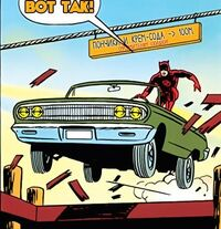 DD 1 9 Daredevil is steering car