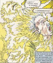 La Mente de Thaddeus Ross entra en el Cuerpo de Zzzax (Tierra-616)