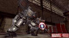 Капитан Америка и Железный крест - Captain America Super Soldier game