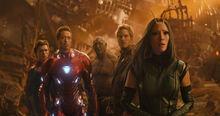 Мстители и Стражи на Титане - Война бесконечности