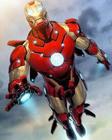 Iron Man bleeding edge