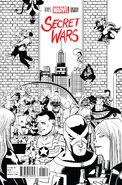 Secret Wars Vol 1 1 Zdarsky Sketch Variant