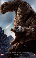 Fantastic Four 2015 poster Thing