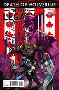 Death of Wolverine The Logan Legacy Vol 1 1 Canada Variant