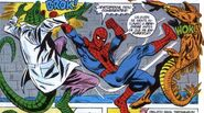 Stegron el Hombre Dinosaurio (Vincent Stegron) vs El Lagarto (Curtis Connors) vs Spider-Man (Peter Parker)