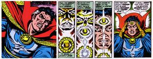Dr strange ojo de agamotto comics