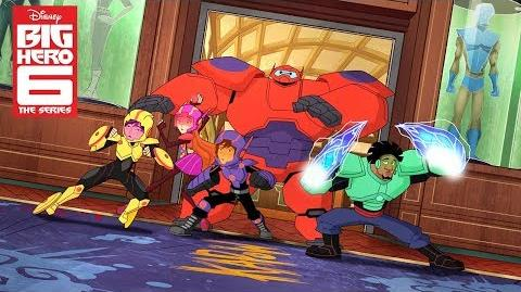 Sneak Peek Big Hero 6 The Series Disney XD