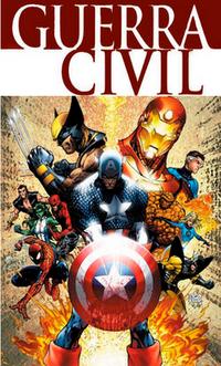 Guerra Civil Marvel Logo 2