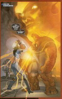 UFF 37 Invisible Woman vs Thanos