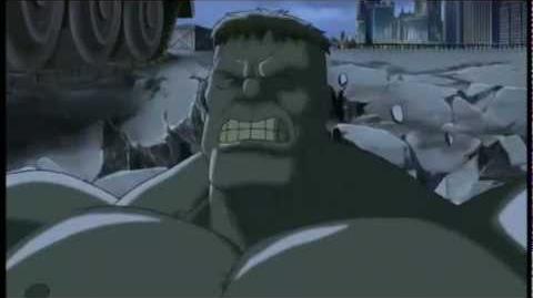 Hulk vs Los Vengadores
