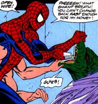 What If? v2 42 Spider-Man is treating Lizard
