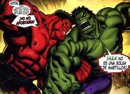 Red Hulk Vs Hulk
