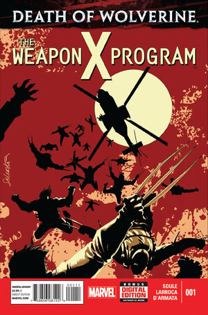 Death of Wolverine The Weapon X Program Vol 1 1