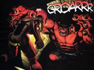 Iron Man (Anthony Stark) y Hulk Rojo (Thaddeus Ross)