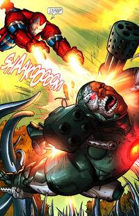 War Machine Vol 2 9 Iron Patriot vs. War Machine