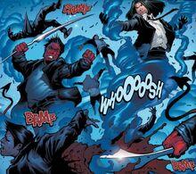 Янош Квестед (10005) и Азазель (10005) из X-Men The High Hand