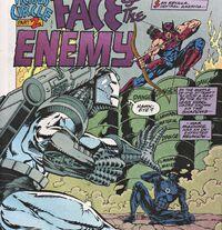War Machine 15 War Machine face to face with Hawkeye