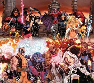 The X-Men (Cyclops & Wolverine teams)