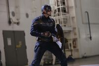 Captain America on Lemurian Star