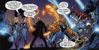 USM 101 Fantastic Four vs Nick Fury