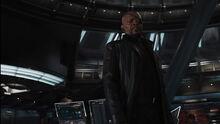 Фьюри узнает, что Старк хакнул базу ЩИТ - Мстители фильм
