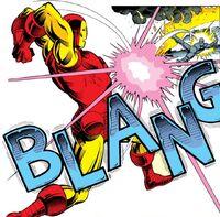 Iron Man 192 Rhodey is beaten Tony