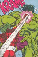Leonard Samson vs El Hulk