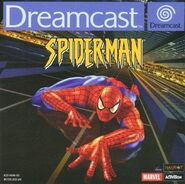 Spiderman (videojuego 2000 cubierta Sega Dreamcast)