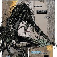 Reed Richards (Earth-616) possessed by the Venom symbiote from Spider-Man Fantastic Four Vol 1 2