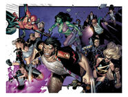 Coipel-olivier-house-of-m-6-group-wolverine-she-hulk-spider-man-and-warbird